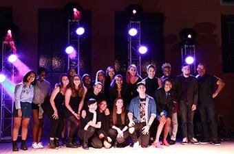asu's got talent live show group picture