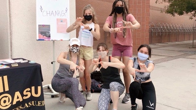 In CHAARG: Sun Devils bring women's health and fitness club to ASU