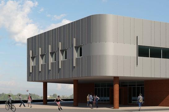 33,000 square-foot community center