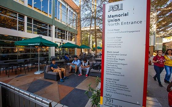 Awe Inspiring Student Unions And Centers Arizona State University Download Free Architecture Designs Intelgarnamadebymaigaardcom