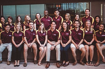 Group photo of Undergradaute Student Government officers