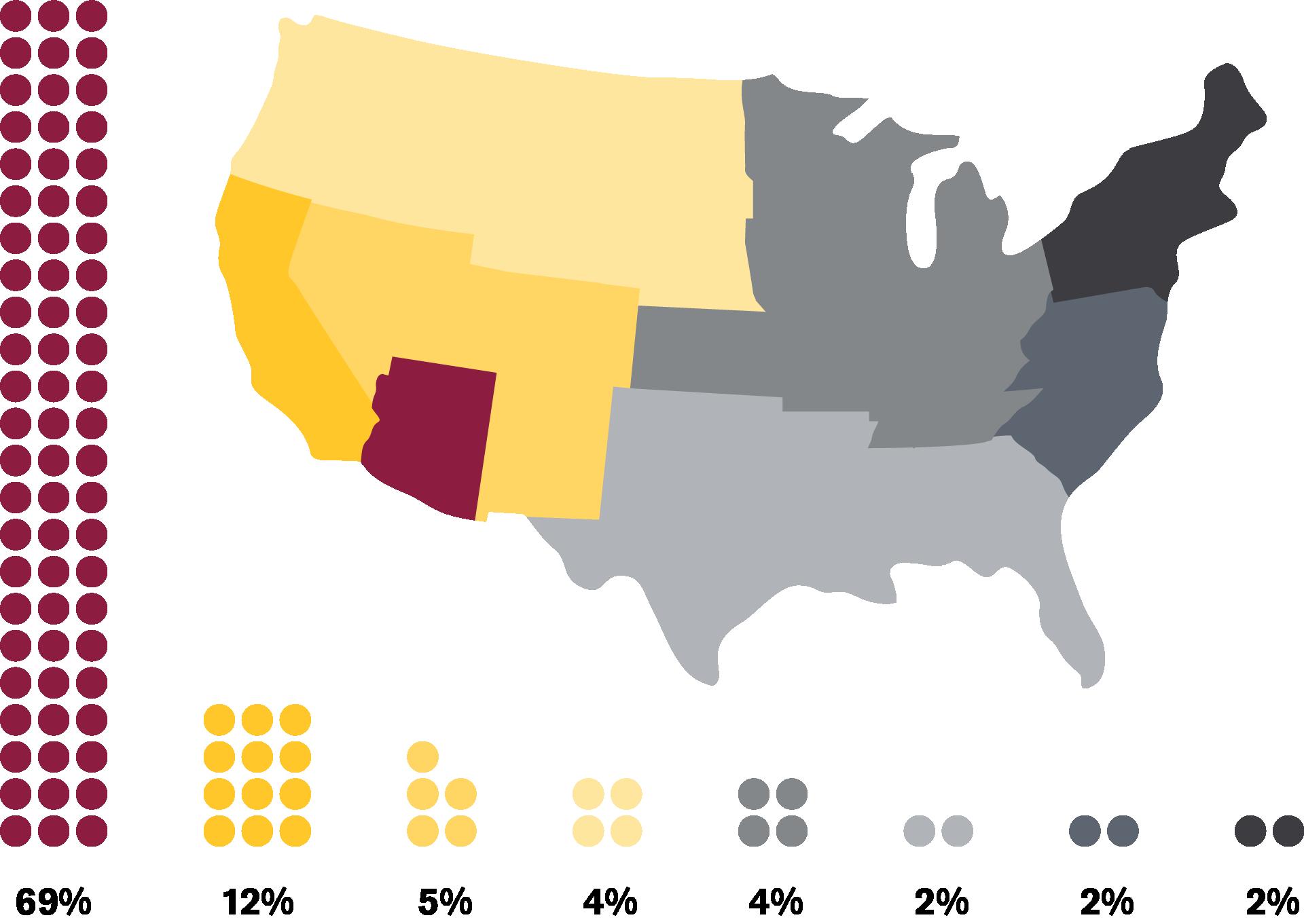Undergraduate Map