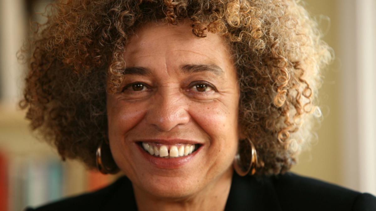 Close up portrait of Dr. Angela Davis, PhD