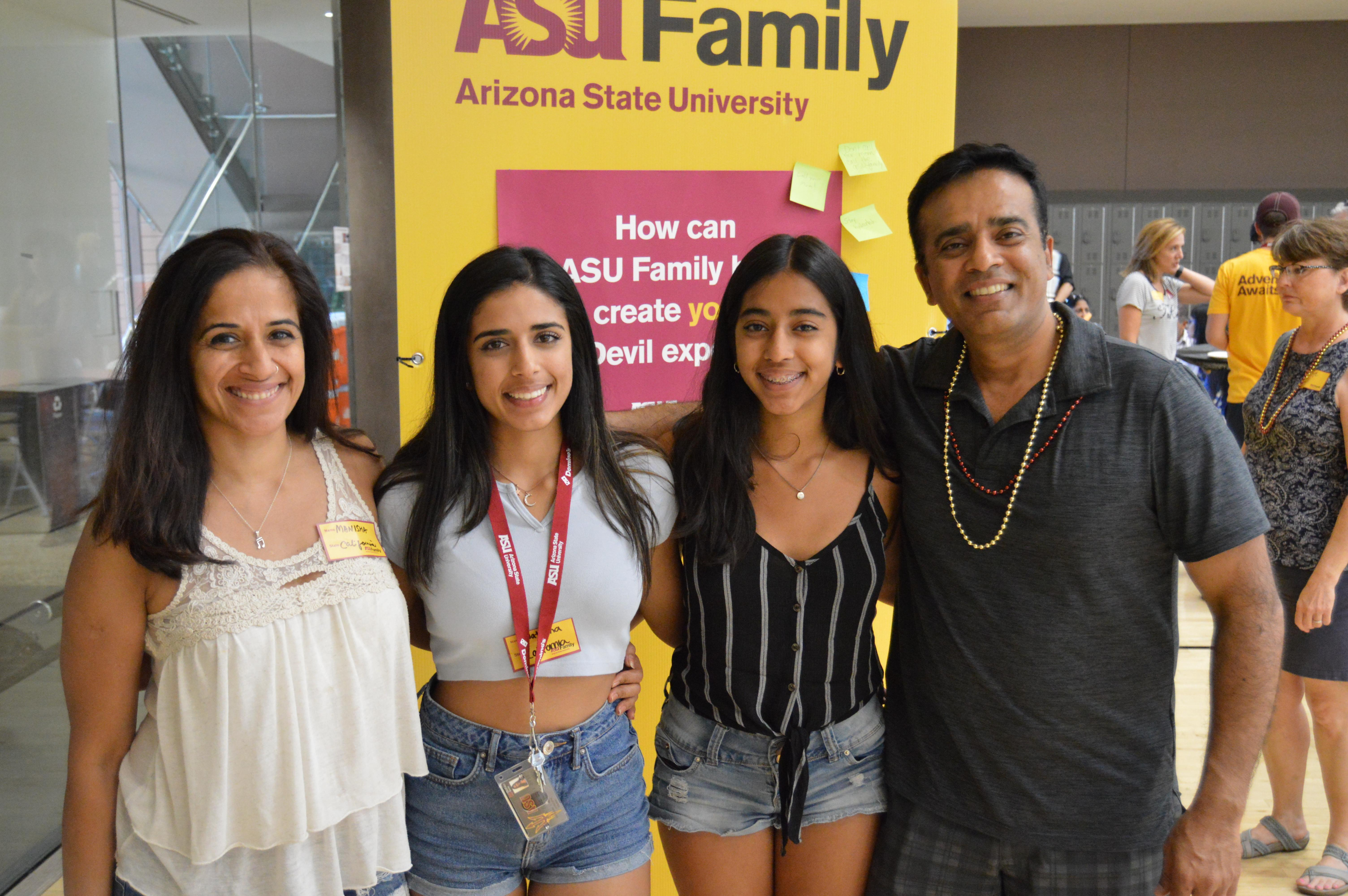 Advice from parents to Sun Devils