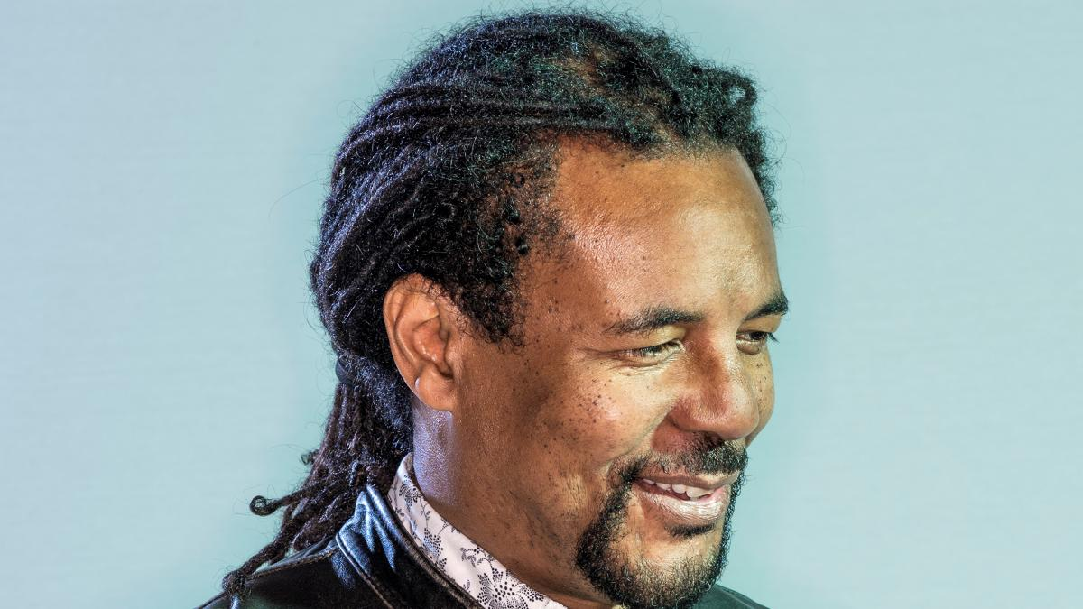Profile image of Colson Whitehead at an event