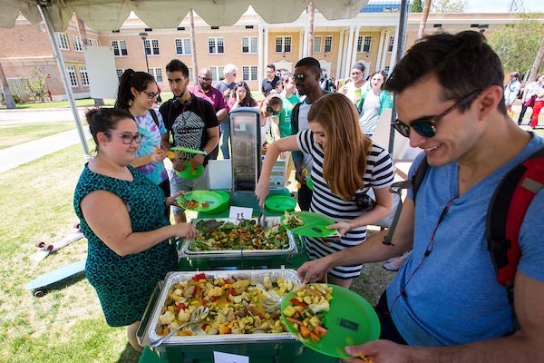 ASU food vendor process
