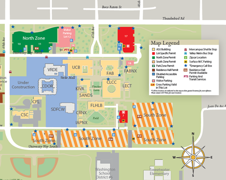 conference location directions and parking educational outreach