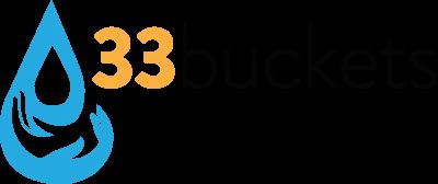 33 buckets logo