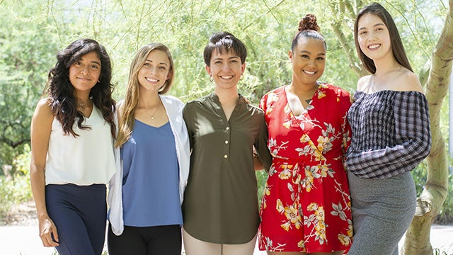 ASU WISE 2019 members Women in Science and Engineering